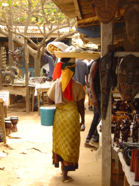 ghanaian woman photo courtesy of The Harrises of Chicago