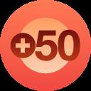 50+ followers