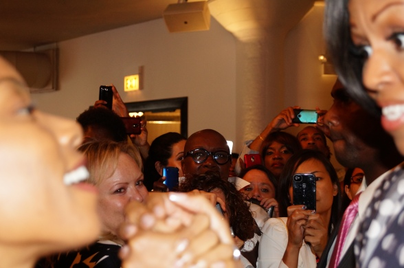 meeting FLOTUS Michelle Obama
