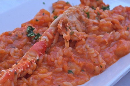 seafood risotto | ristorante di rienzo - photo courtesy of The Harrises of Chicago