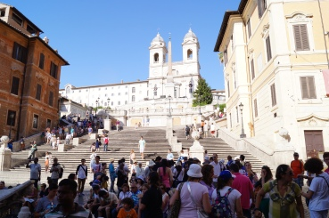 spanish steps - photo courtesy of The Harrises of Chicago