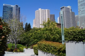 yerba buena gardens - photo courtesy of The Harrises of Chicago