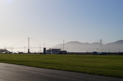 marina green and golden gate bridge - photo courtesy of The Harrises of Chicago