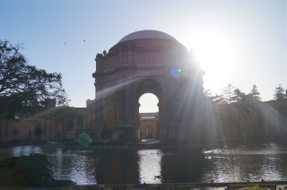 palace of fine arts - photo courtesy of The Harrises of Chicago