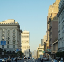 california street - photo courtesy of The Harrises of Chicago
