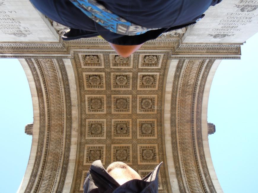 arc de triomphe - photo courtesy of The Harrises of Chicago