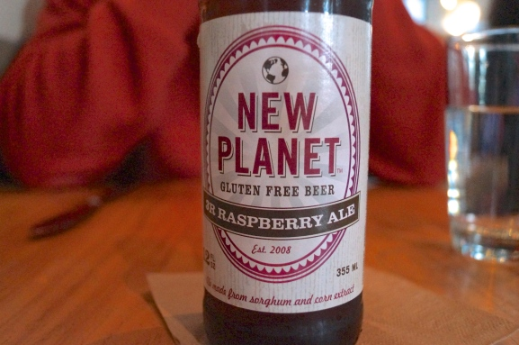 new planet beer | gluten free | photo courtesy of The Harrises of Chicago