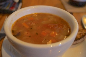 bean soup | the plant | photo courtesy of The Harrises of Chicago