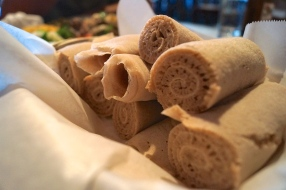 injera - photo courtesy of The Harrises of Chicago
