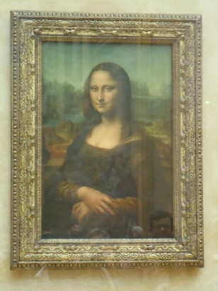 mona lisa | louvre | paris | photo courtesy of The Harrises of Chicago