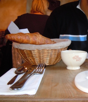 croissants | cafe | paris | photo courtesy of The Harrises of Chicago