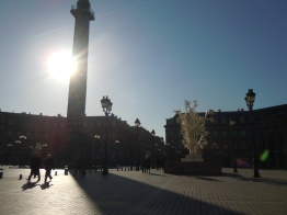 place vendôme | paris | photo courtesy of The Harrises of Chicago