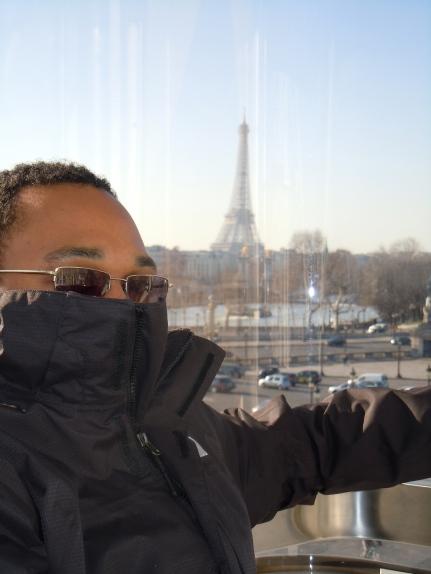 view from roue de paris | eiffel tower | paris | photo courtesy of The Harrises of Chicago