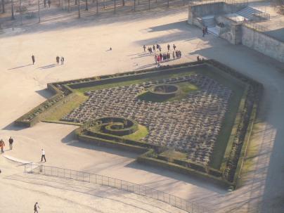 view from roue de paris | jardins des champs élysées | paris | photo courtesy of The Harrises of Chicago
