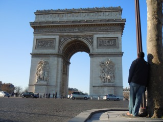 Arc de Triomphe | photo courtesy of The Harrises of Chicago