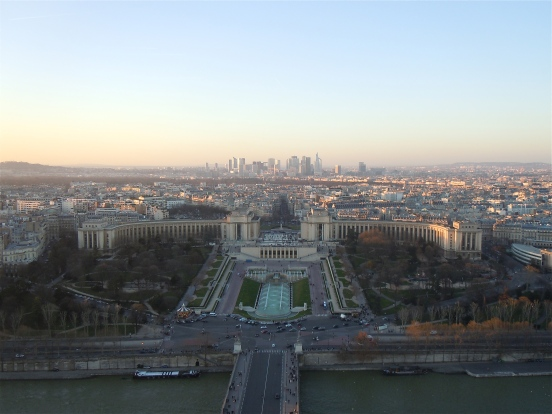view from eiffel tower | photo courtesy of The Harrises of Chicago