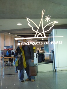airport | paris | photo courtesy of The Harrises of Chicago
